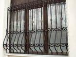 Ставни/решетки кованые/сварные на окна/двери под заказ - фото 6