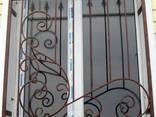 Ставни/решетки кованые/сварные на окна/двери под заказ - фото 7