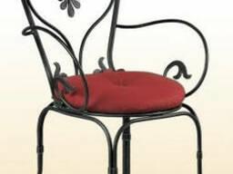 Кованые стулья, кресла