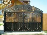 Кованые ворота цена Луцк - фото 5