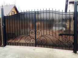 Кованые ворота цена Луцк - фото 6