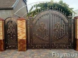 Кованые ворота,калитки