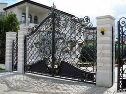 Кованые ворота на заказ Одесса Киев