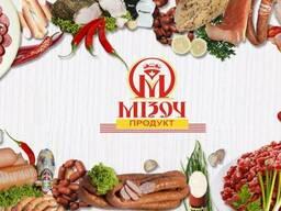 Ковбаси й ковбасних виробів та м'ясних делікатесів