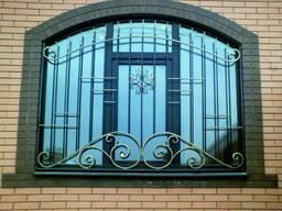 Металлические и кованые ворота. Навесы для авто. Решетки, заборы, двери из металла
