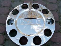 Ковпак колеса захісний 22, 5 хромований 10 отв, DAF