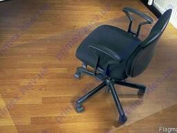 Коврик под кресло для защиты пола прозрачный поликарбонатный