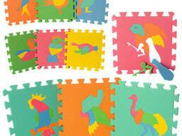 Коврик Метр+ Мозаика EVA птицы(M 0387)