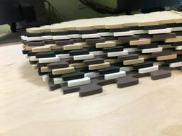 Коврик-пазл EVA Домино 50 см на 50 см 10 мм , цена набор из 12 пазлов