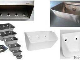 Ковши норийные (сталь, полимер)