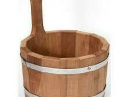 Ковш для бани и сауны на 5 л (термодерево)