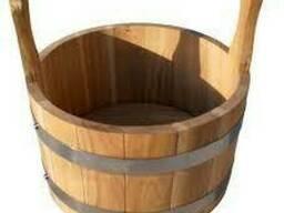 Ковш для бани и сауны на 7 л (термодерево)