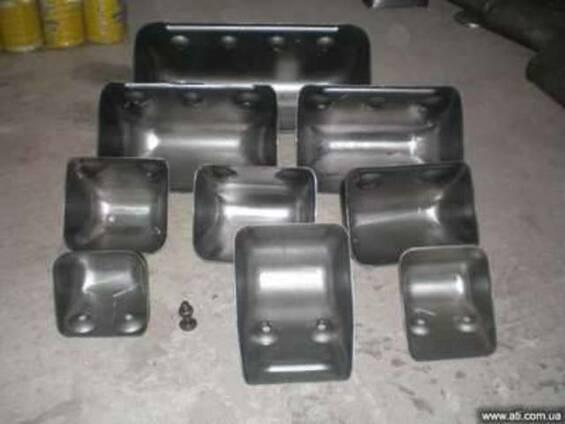 Ковш норийный штампованный, пластиковый (полимерный)