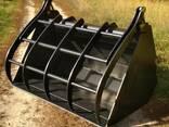 Ковш с захватом на телескопический погрузчик - фото 6