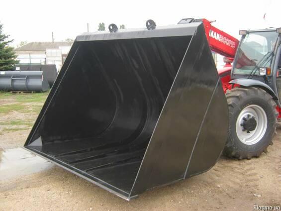 Ковш зерновой 5м.куб. на manitou jcb merlo bobcat claas cate