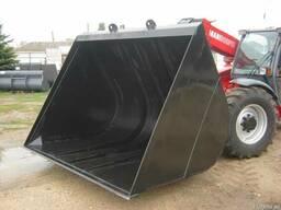 Ковш зерновой 5м. куб. на manitou jcb merlo bobcat claas cate