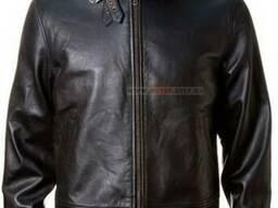 Кожаная куртка Top Gun Leather Jacket with Bonded Fur