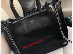 Кожаная сумка Селин в натуральной коже