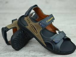 Кожаные сандалии Columbia