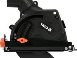Кожух пилозахисний до КШМ для різання YATO на диск Ø125 мм глибина різу- 32 мм зона. ..