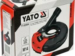 Кожух пилозахисний до КШМ для шліфування YATO на диск Ø115 і Ø125 мм, зона дії- 28-36 мм