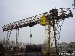 Козловой кран грузоподъемностью от 25 тонн и выше