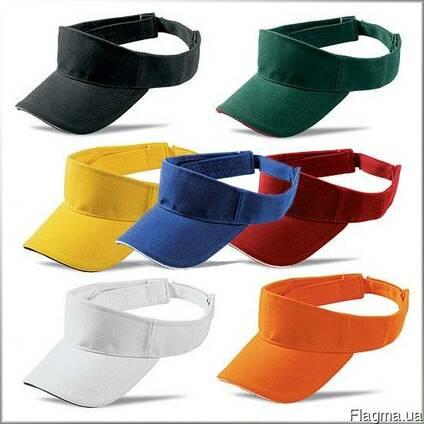 Козырьки, кепки, головные уборы, мужские или женские