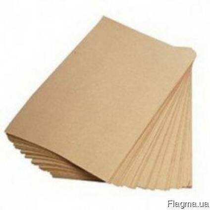 Крафт бумага А3 в листах упаковочная бурая, 1000 листов