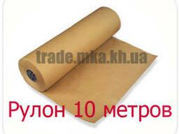 Крафт бумага в рулоне 10 метров