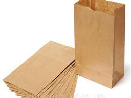 Крафт бумажный пакет
