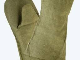 Краги брезентовые, перчатки для сварщиков, рабочие