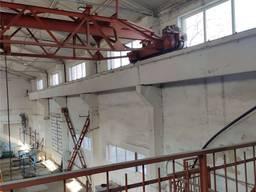 Кран-балка грузоподъемность 3 тонны , длина пути 30м