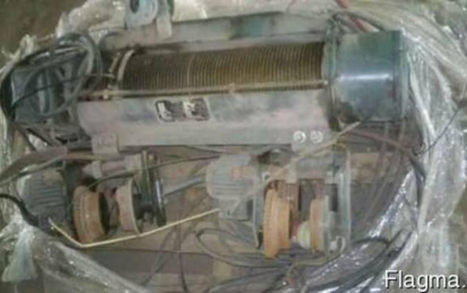 Кран балка тельфера лебедки электродвигателя