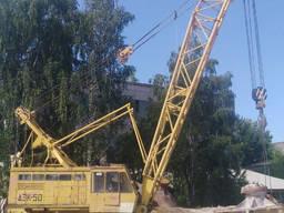 Кран ДЭК-50, г/п 50т