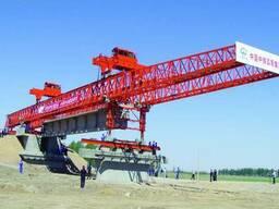 Кран для постройки мостов