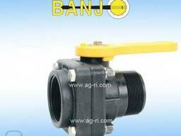 Кран двухходовой шаровый Banjo VSMT 200