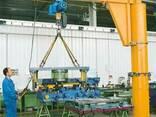 Кран консольный стационарный с механическим поворотом - фото 1