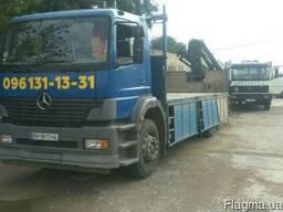 Перевозка, доставка, кран-манипулятор в Одессе и области