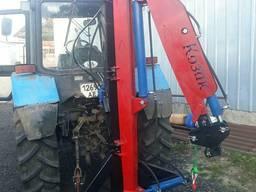 Кран поворотный к тракторной навеске