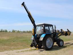 Кран манипулятор S-1500 на трактор