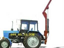 Кран - манипулятор тракторный для мтз, юмз, т-40
