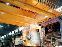 Кран мостовой металлургический закалочный