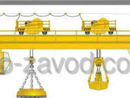 Кран мостовой магнитно-грейферный г/п 30 32 т.