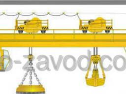 Кран мостовой магнитно-грейферный г/п 6, 3 16 т.