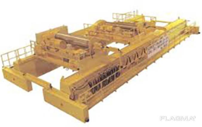 Кран мостовой c двумя тележками г/п 50/5 10 т.