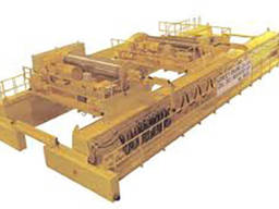Кран мостовой c двумя тележками г/п 6, 3 6, 3 т.