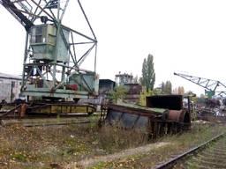 Кран перегрузки металлолома ГПК-5