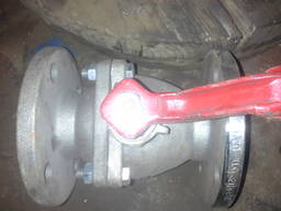 Кран шаровой нержавеющий 11нж99фт (ДП 39001) Ду50 Ру16