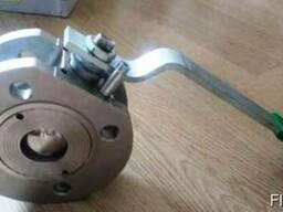 Кран шаровый нержавеющий межфланцевый Ду100 Ру16 AISI 304