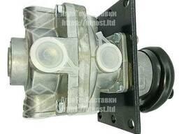 Кран тормозной 2-х секционный с рычагом Камаз 100. 3514008-02